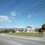 県道より物件を撮影(2018年10月)