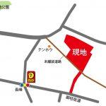 新設道路を含む「長峰Ⅰ」分譲地位置図
