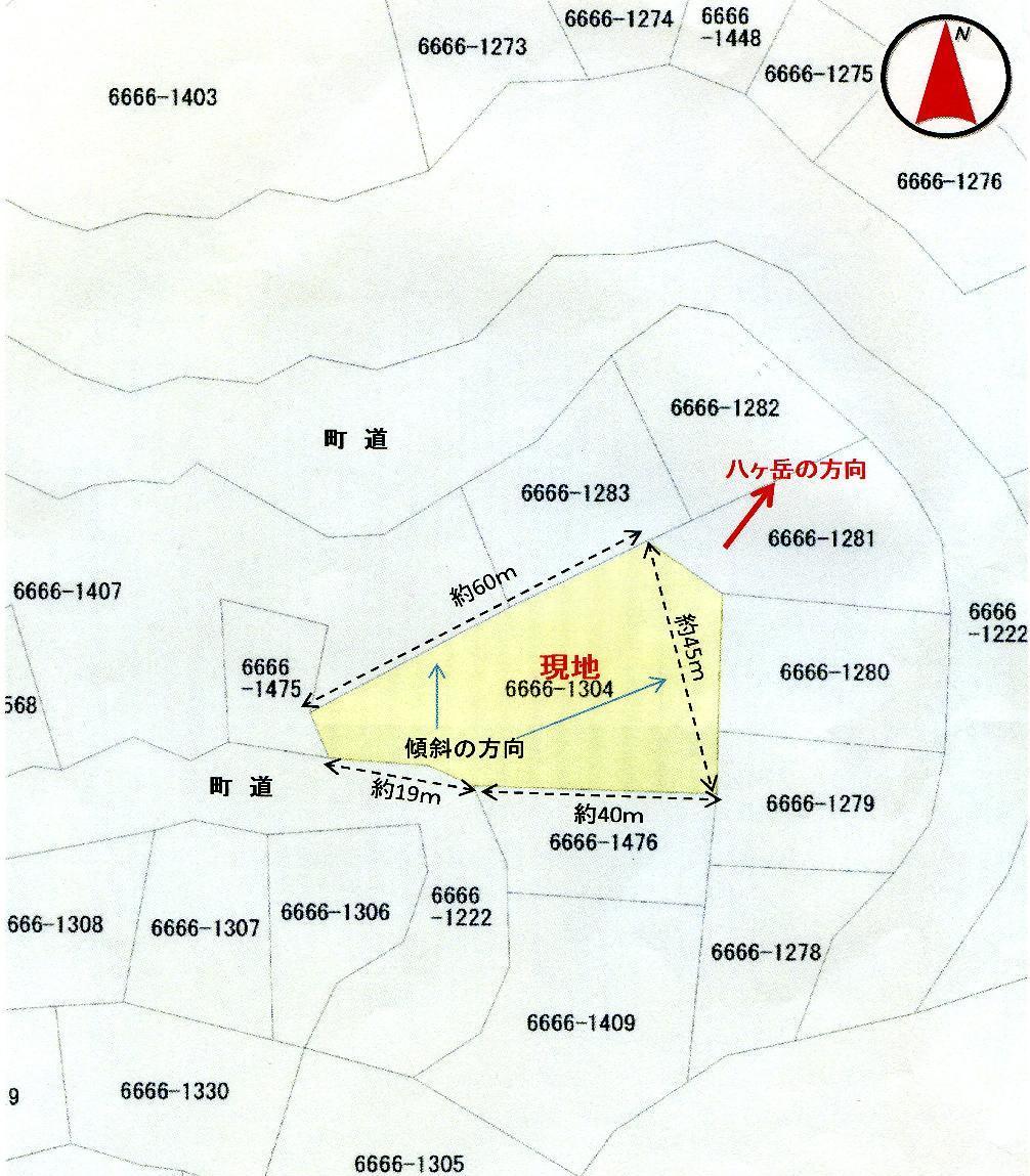 諏訪郡富士見町青木の森別荘地 ...