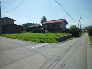 前面道路と現地を撮影2016年8月