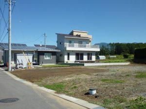敷地から南側を撮影(2017年9月)