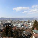 ベランダからの眺望。