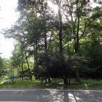 前面道路から撮影。2017年9月撮影