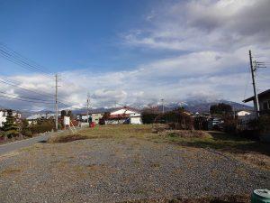 西側からの敷地(2017年11月)(外観)