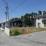 前面道路南側から撮影(2020年8月)