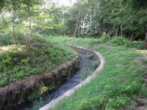 大河原せぎ(農業用水)が近くを流れます
