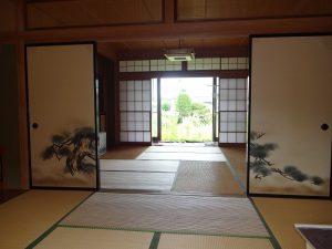 8帖和室からの眺め