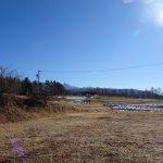 南東方向八ヶ岳の眺望あり(2021年1月)