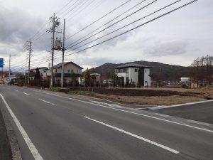 南側前面道路より撮影(2018年12月)
