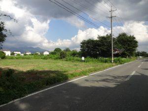 前面道路より撮影(2018年8月)