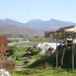 物件東方向には八ケ岳の眺望(2018年10月)