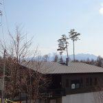 南方向に甲斐駒ヶ岳を望む(2020年4月)