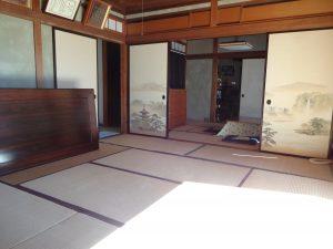 1F8畳和室から6畳条和室