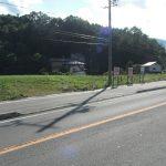 前面道路東側から物件を撮影(2018年8月)