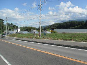 物件前道路南方向を撮影(2018年8月)