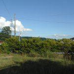 物件東南方向を撮影(2018年8月)