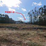 南西方向に甲斐駒ケ岳の眺望有り(2018年12月)