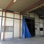 倉庫A入口(令和元年9月撮影)