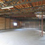 倉庫A内部 南側から撮影(令和元年9月撮影)