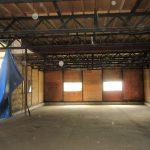 倉庫A内部 北側から撮影(令和元年9月撮影)