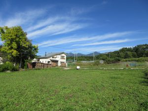 物件東方向八ケ岳の眺望(2019年9月)