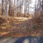 舗装道路から未舗装道路