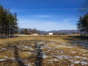 物件北方向の車山の眺望(2020年1月)