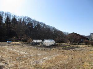 物件南方向を撮影(2020年2月)