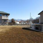 物件東方向に見える八ケ岳(2020年2月)