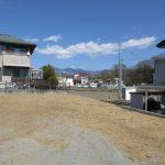 物件東方向を撮影、八ヶ岳の眺望。(2020年4月)
