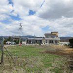 北方向を撮影・車山の眺望(2020年4月)