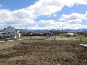 物件東方向に広がる八ヶ岳の眺望(2020年4月)