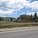 前面道路南西側から撮影(2020年5月)