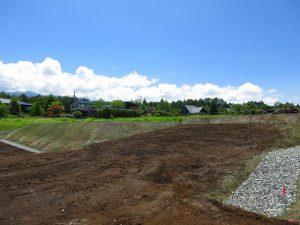 前面道路から南東方向を撮影(2020年6月)
