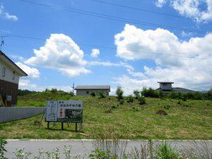 前面道路から南方向を撮影(2020年6月)