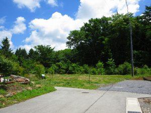 前面道路から物件を撮影(2020年6月)