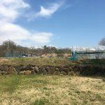 物件東方向の八ヶ岳の眺望(2020年4月)