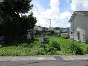 前面道路南方向を撮影(2020年7月)