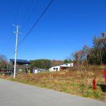 前面道路南西側から撮影(2020年11月)