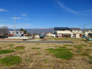 物件から北方向の車山の眺望(2020年12月)
