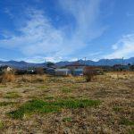 物件から東方向の八ヶ岳の眺望(2020年12月)