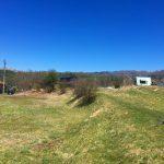 物件から北方向車山の眺望(2021年4月)