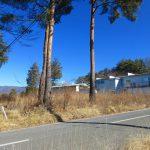 前面道路から北東方向を撮影(2021年1月)