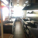 東棟店舗の厨房