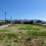 物件東方向、八ヶ岳の眺望(2021年4月)