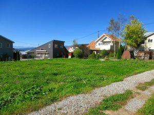 前面道路南東側から撮影(2021年10月)