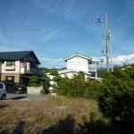 物件から東方向八ケ岳(2016年10月)