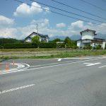 県道から撮影(2017年6月)