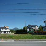 県道から撮影(2017年9月)