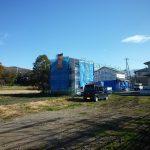 敷地から東方向を撮影(2017年11月)